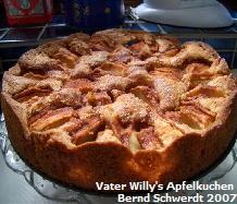 Vater Willy's Apfelkuchen