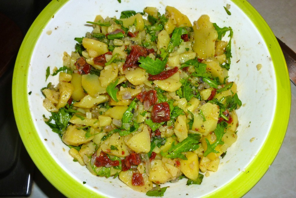 kartoffelsalat rucola